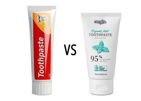 Паста за зъби - органична или обикновена